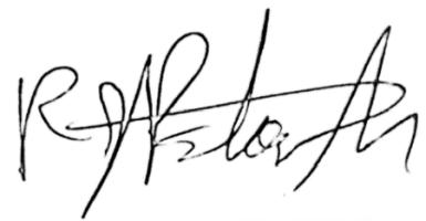 owners signature